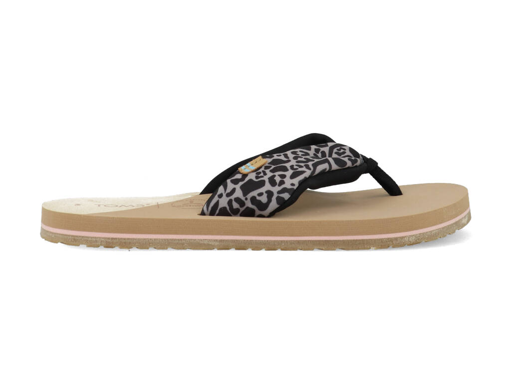 Toms Slippers Piper 10016552 Zwart