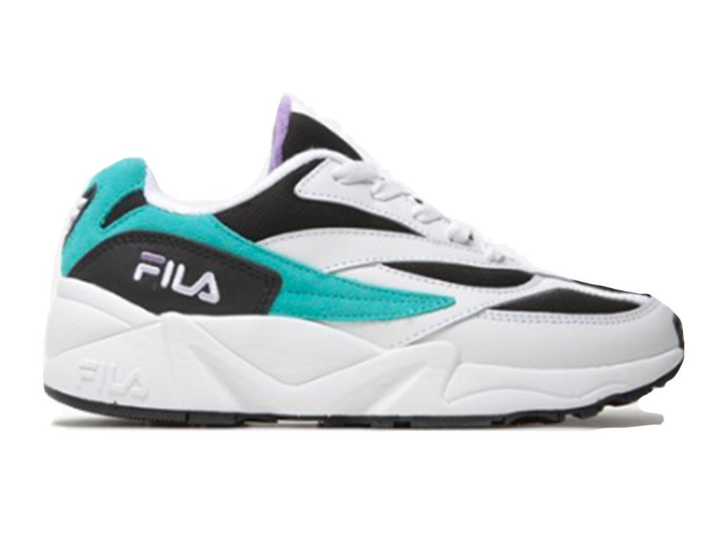 Fila V94M Low 1010573.11P Wit / Zwart / Paars / Blauw-45 maat 45