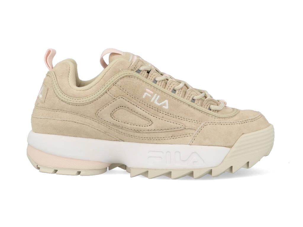 Fila Disruptor S Low Feather 1010605.00J Beige / wit maat
