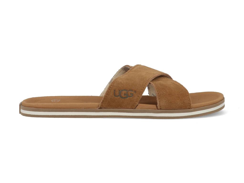 UGG Slippers Beach Slide 1020086 Bruin maat