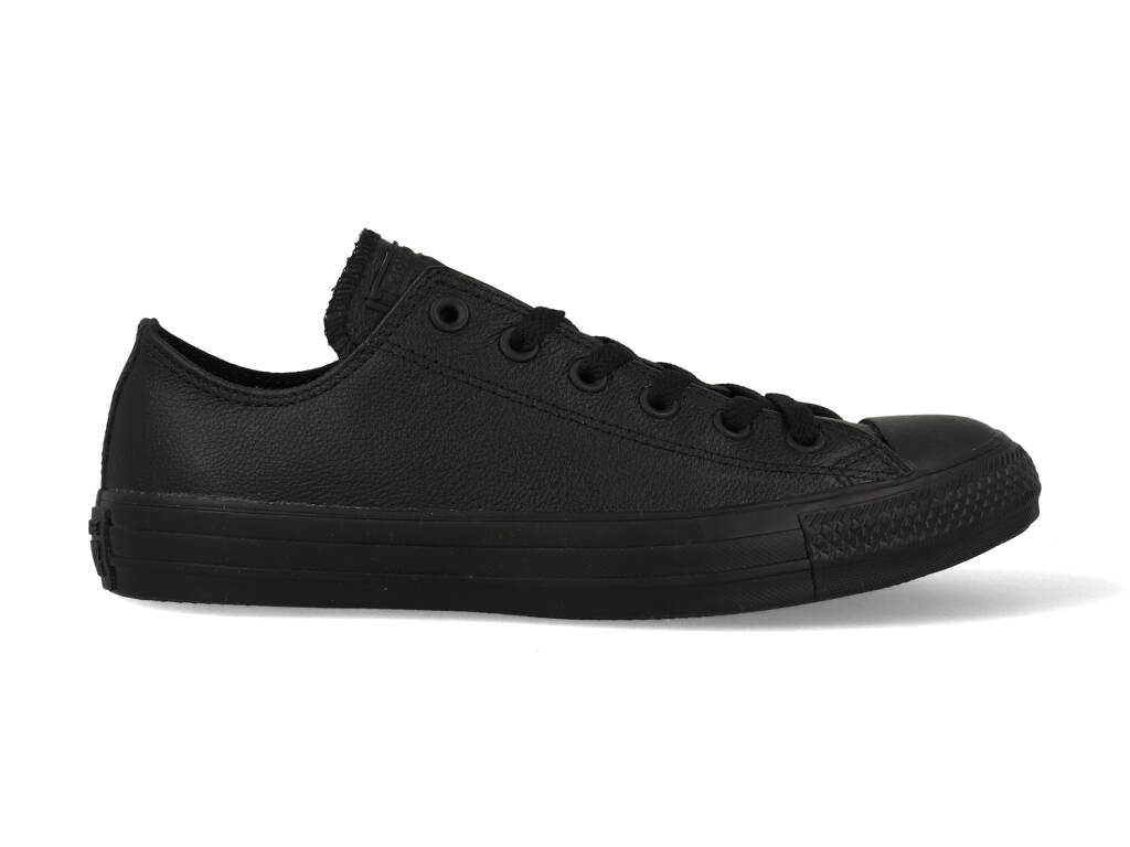 Converse All Stars Leather Laag 135253C Zwart