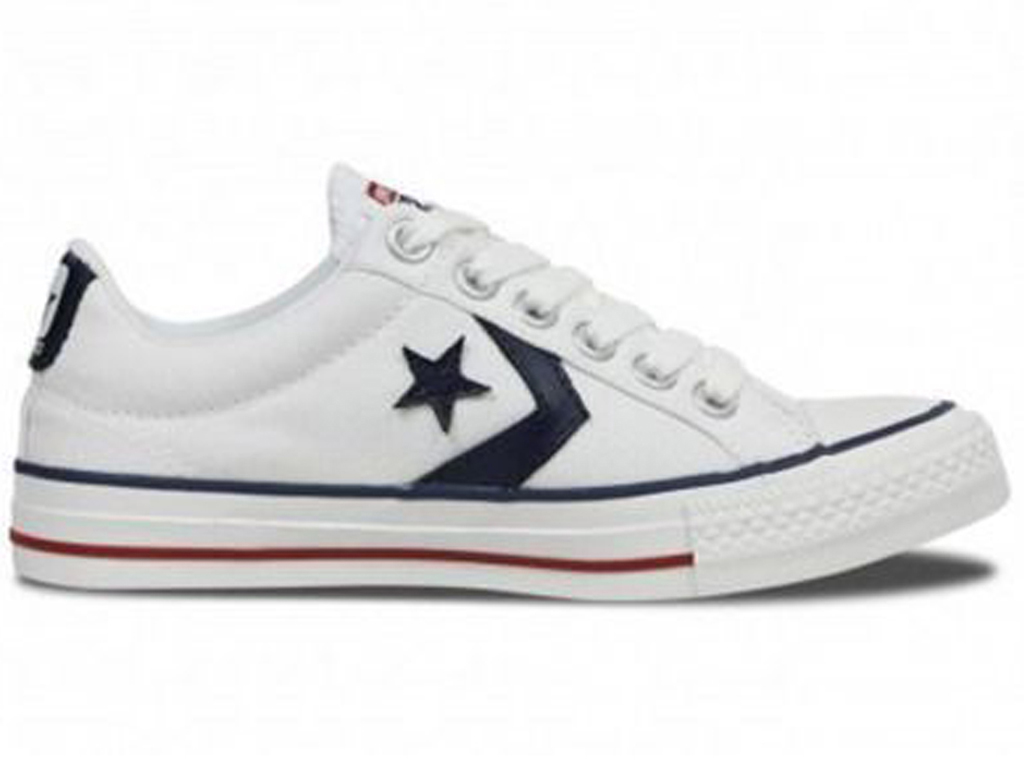 Converse All Stars Star Player 144151C Wit-36 maat 36