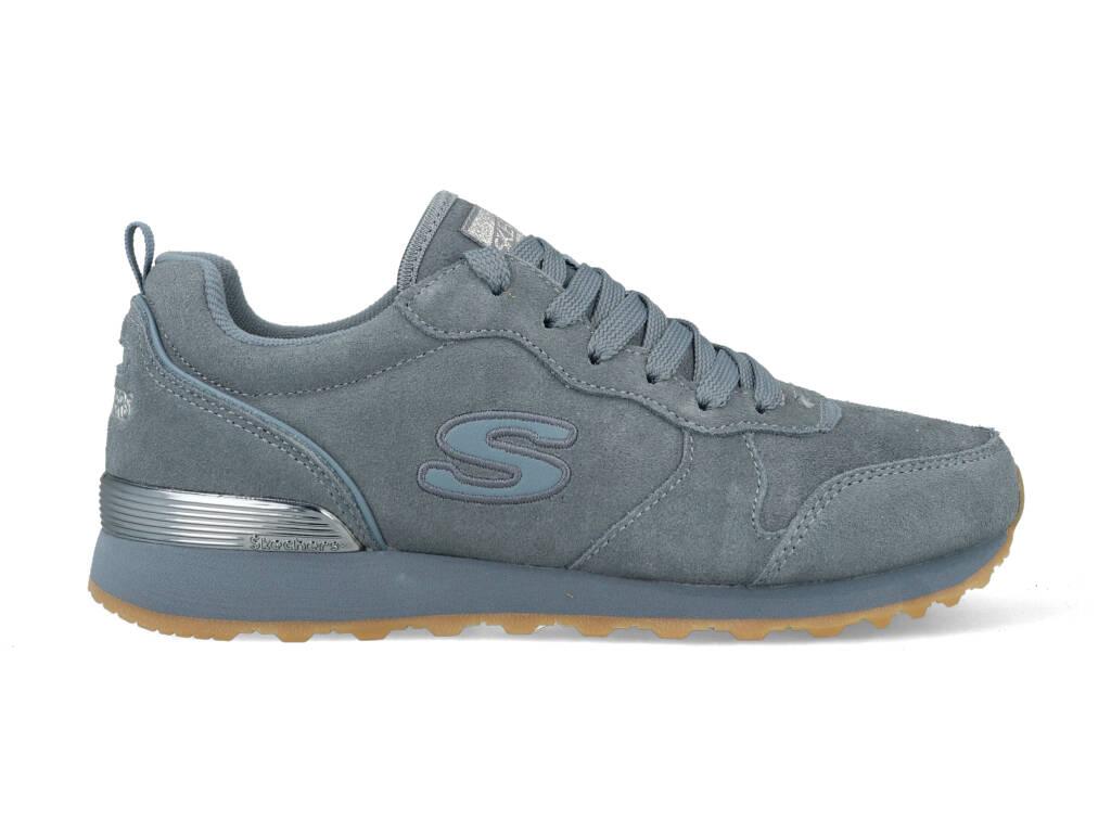 Skechers Suede Eaze 155286/SLT Blauw maat