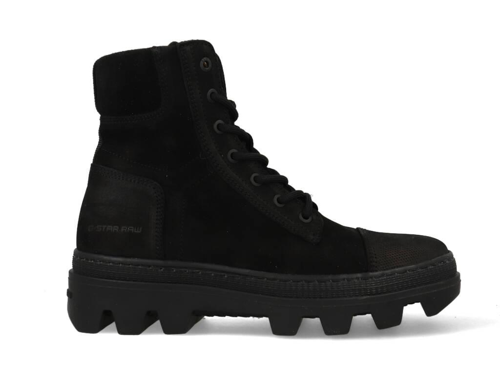 G-star Boot Noxer HGH Nub W BLK 2141020803 Zwart maat
