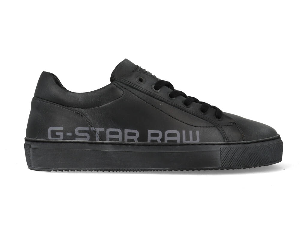 G-Star Sneakers Loam Worn TNL M 2142 006501 Zwart-40 maat 40