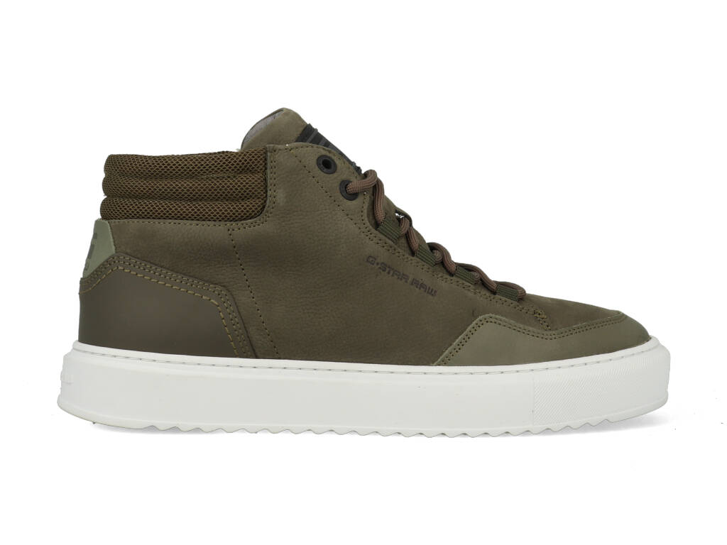 G-Star Sneakers Resistor Mid BSC M 2142 008701 Groen-44 maat 44