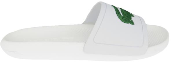 Lacoste Slipper Logo 7CMA0018082 Wit - Groen maat