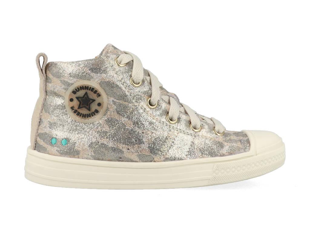 Bunnies Jr Sneakers Frans Ferm 221235-906 Goud-22 maat 22