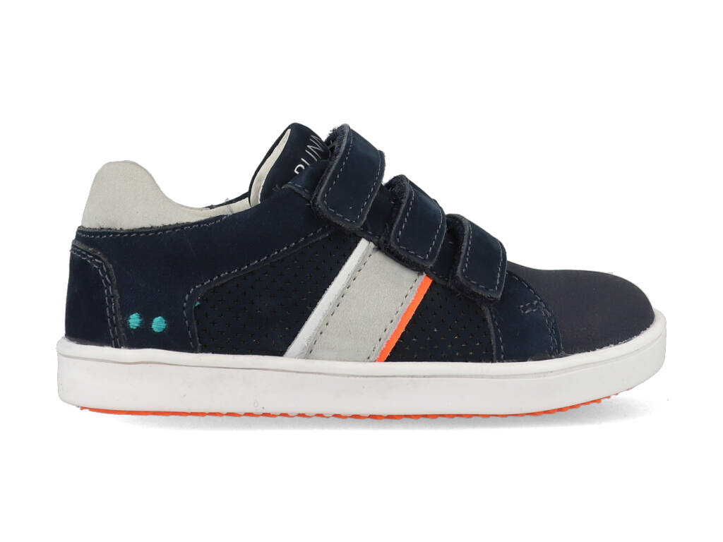 Bunnies Jr Sneakers Pepijn Pit 221342-129 Donker Blauw maat
