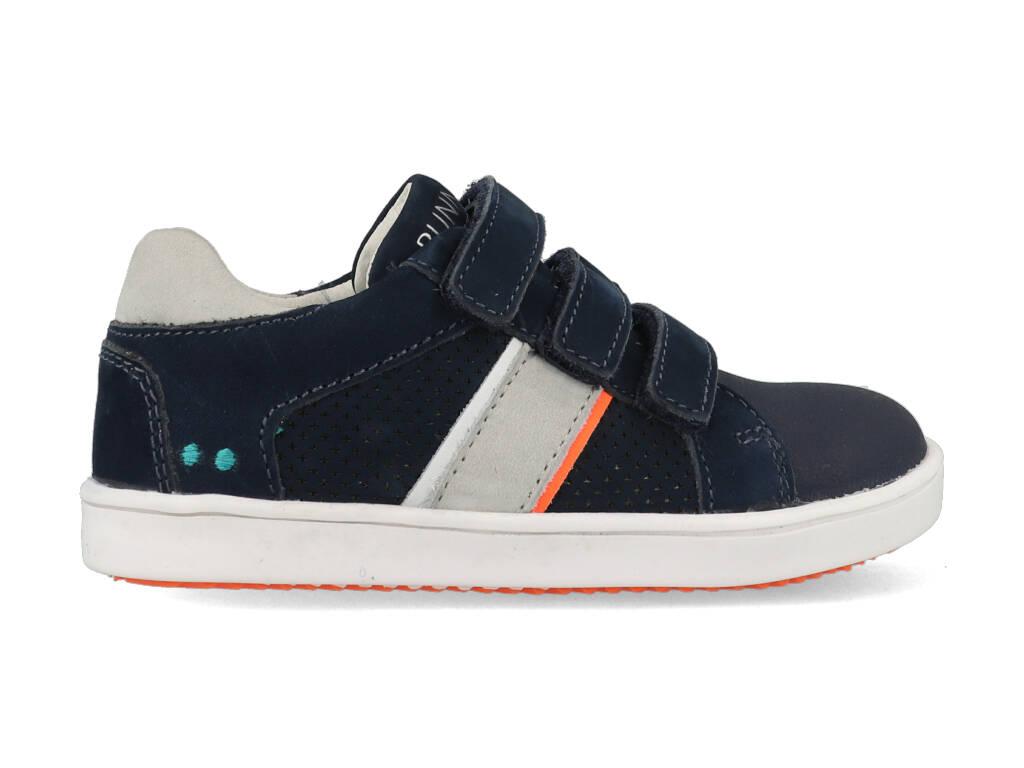 Bunnies Jr Sneakers Pepijn Pit 221342-129 Donker Blauw-21 maat 21