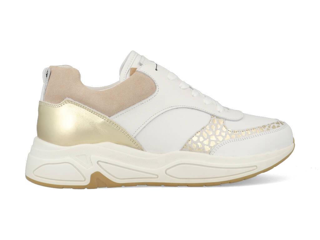 Bullboxer Sneakers 295003E5LBWHGDTD80 Wit maat