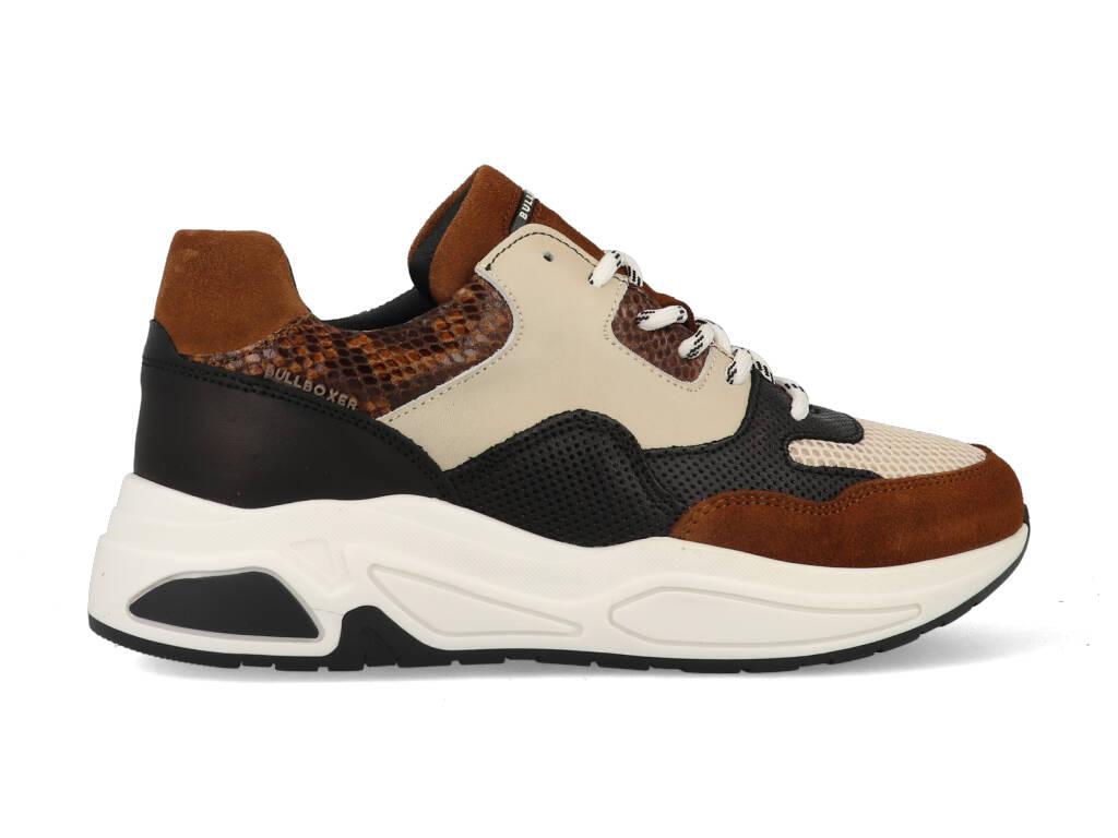Bullboxer Sneakers 295016E5C_COGN Bruin-38 maat 38