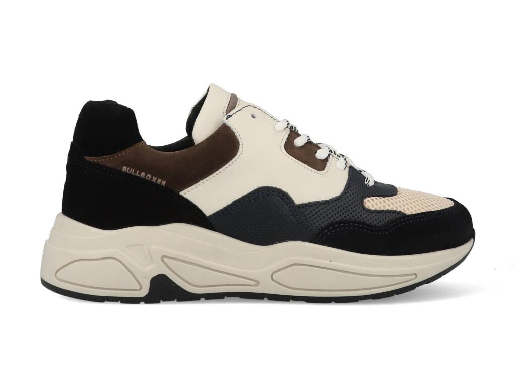 Bullboxer Sneakers 295016E5C_NAVY Beige / Blauw maat