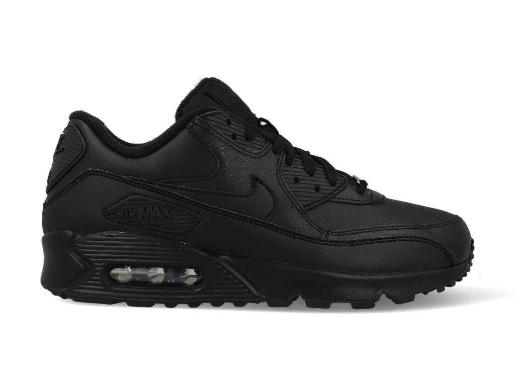Nike Air Max 90 Leather 302519-001 Zwart-42.5 maat 42.5