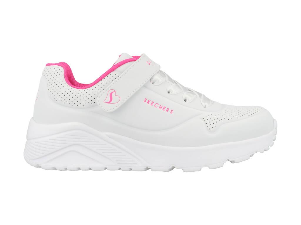 Skechers Uno Lite 310451L/WHP Wit maat