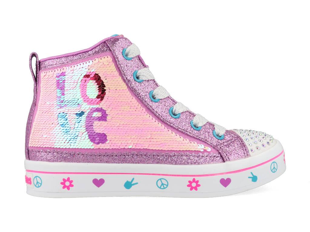 Skechers Lilac Love 314028/LVMT Roze-27 maat 27