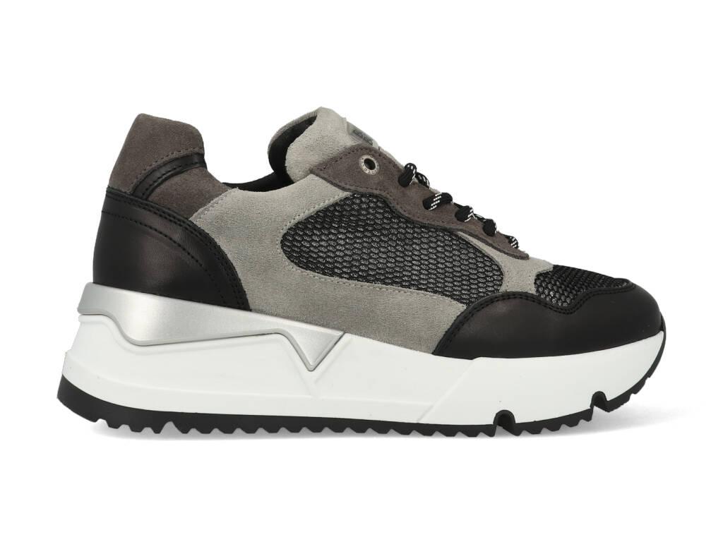 Bullboxer Sneakers 323020E5C_CEMT Grijs / Zwart-41 maat 41