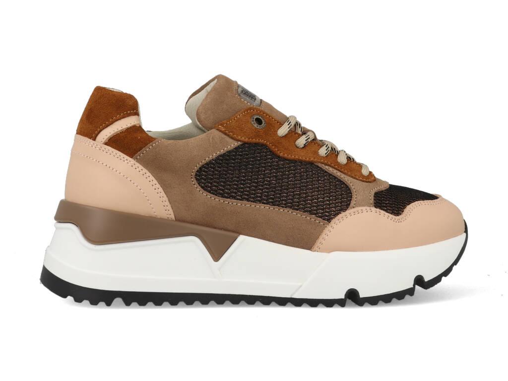 Bullboxer Sneakers 323020E5C_NUDE Bruin / Roze maat