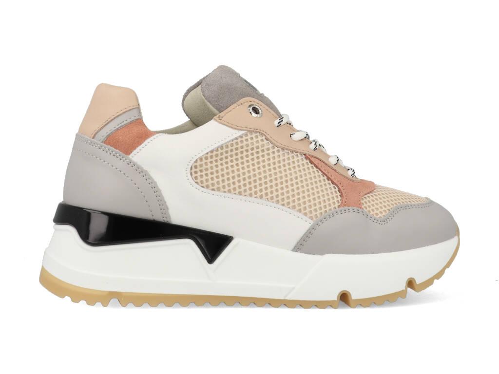 Bullboxer Sneakers 323020E5L_LTGY Roze / Grey maat