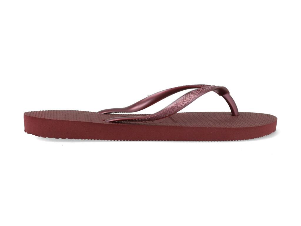 Havaianas Slippers Slim 4000030.4924.F72 Donker Rood maat