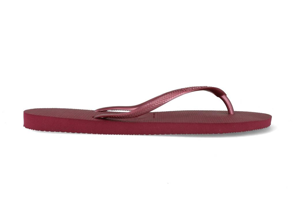 Havaianas Slippers Slim 4000030.3282.F72 Bordeaux maat