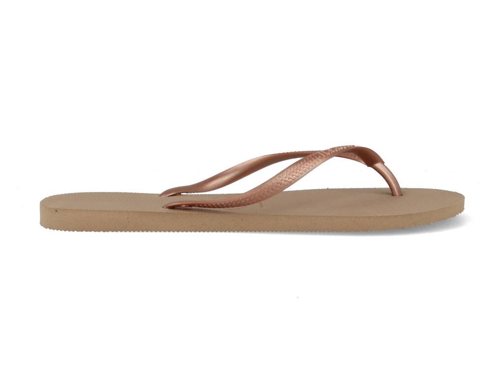 Havaianas Slippers Slim 4000030.3581.F72 Rose / Goud maat