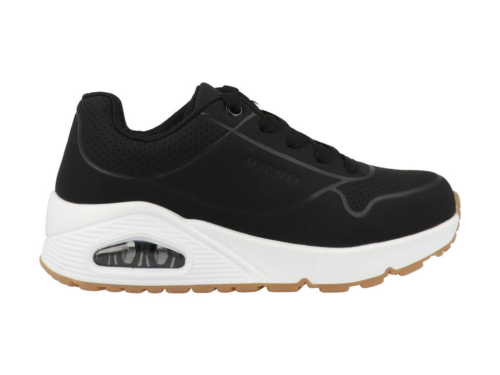 Skechers Uno Stand On Air 403674L/BLK Zwart-34 maat 34