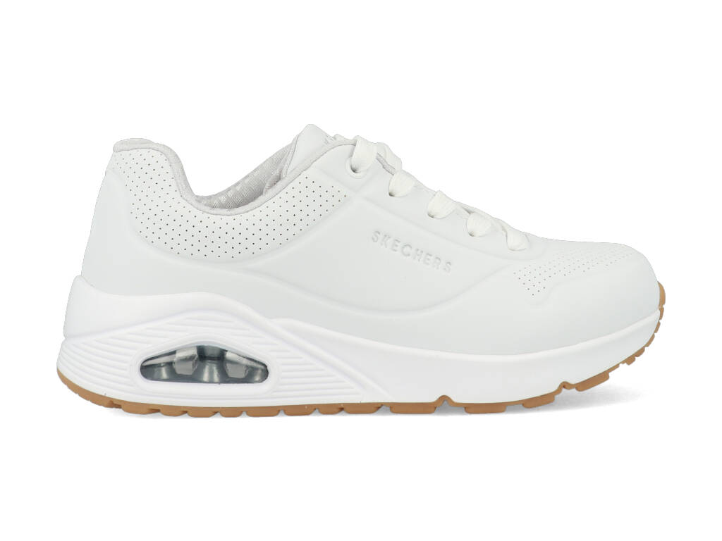 Skechers Uno Stand On Air 403674L/WHT Wit maat