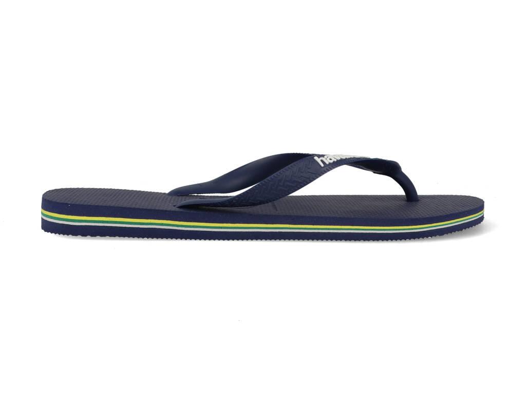 Havaianas Slippers Brasil Logo 4110850.0555.M19 Blauw maat 39/40