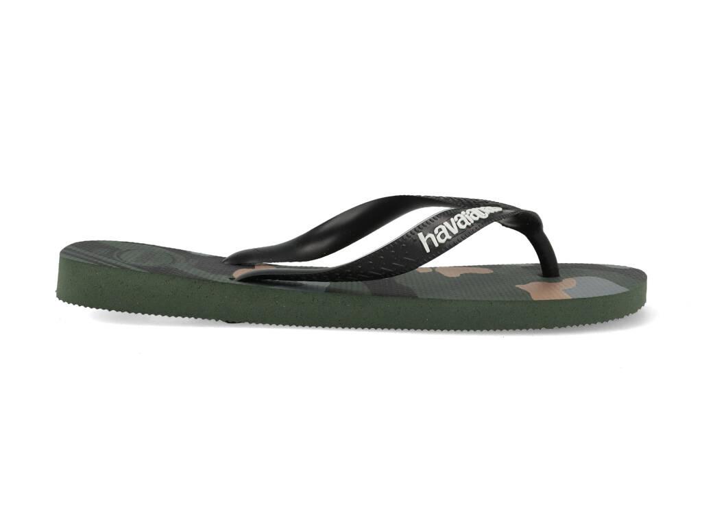 Havaianas Slippers Top Camu 4141398.4896.M19 Groen maat