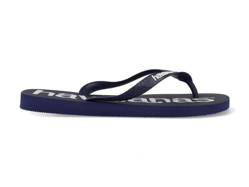 Havaianas Slippers Top Logomania 4144264.0555.M19 Blauw maat