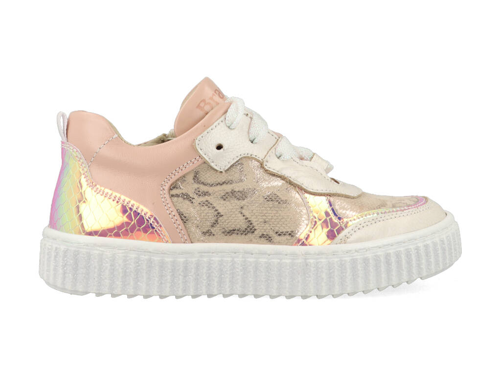 Braqeez Sneakers Pia Paris 421130-596 Roze-27 maat 27