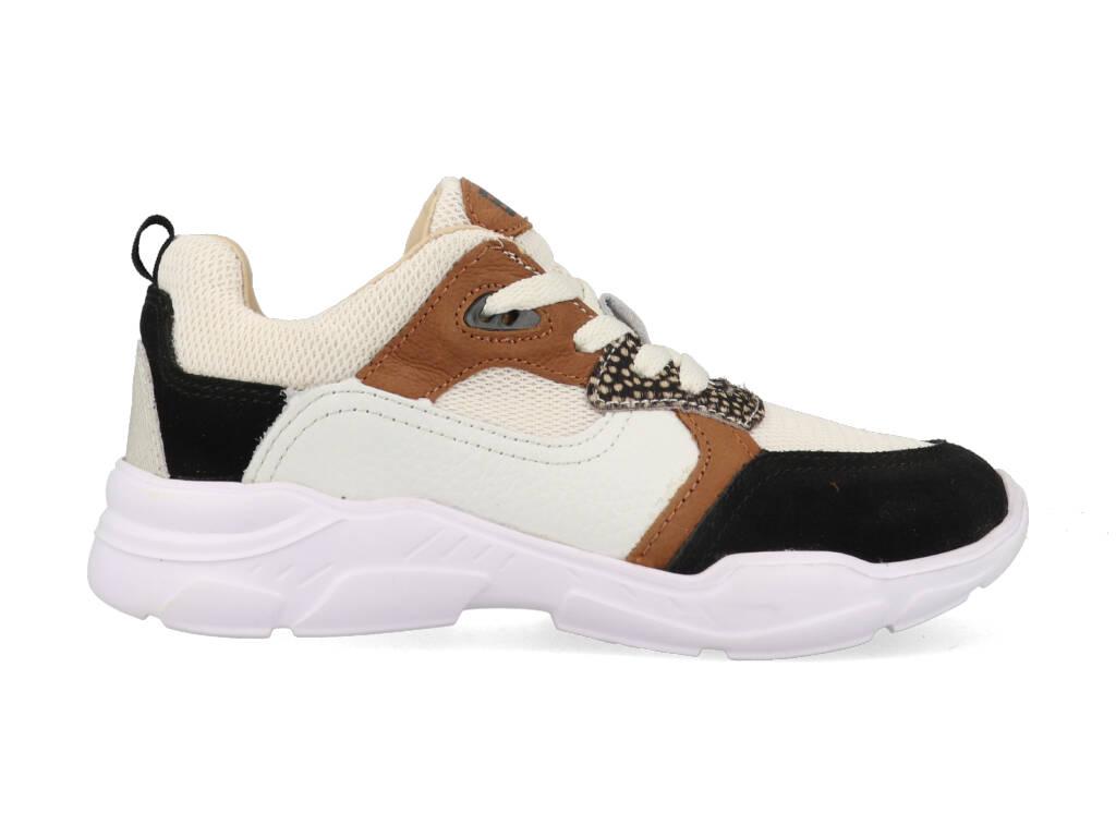 Braqeez Sneakers Renee Run 421280 489 Wit
