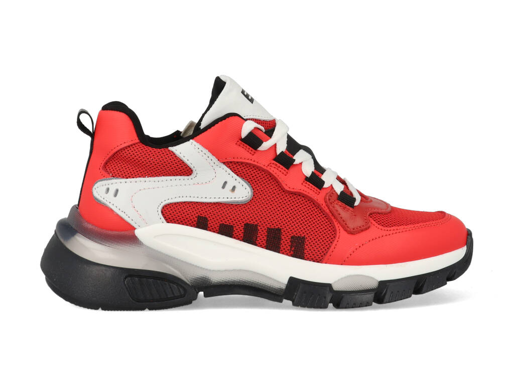 Braqeez Sneakers Gio Genna 421470-541 Rood maat