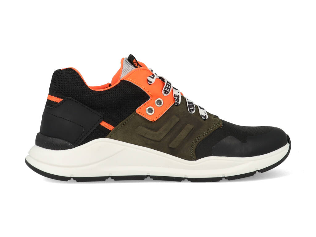 Braqeez Sneakers Ramon Rio 421480-389 Zwart-35 maat 35