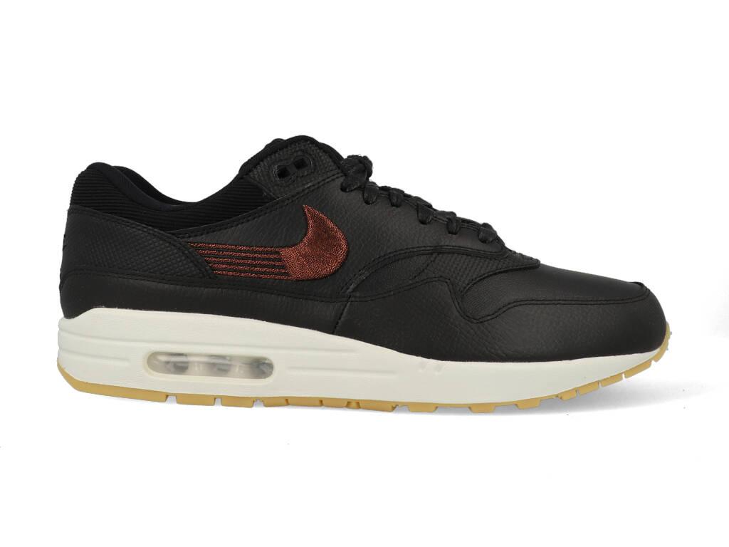 Nike Air Max 1 Premium 454746-020 Zwart maat