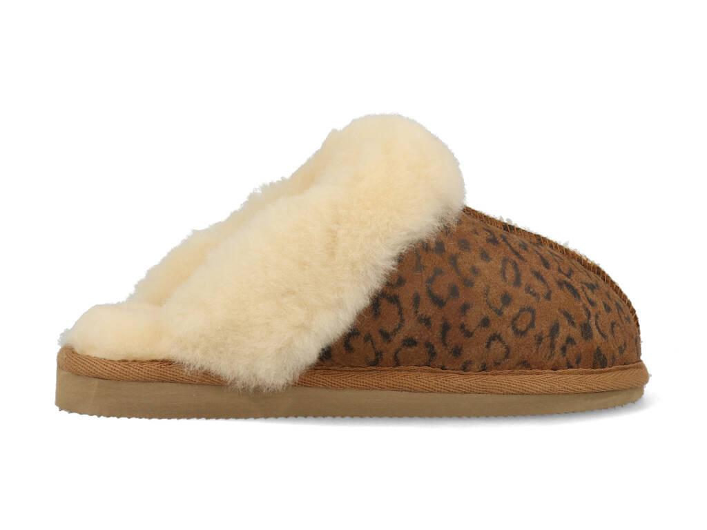 Shepherd Pantoffels 468156 Jessica Bruin-39 maat 39