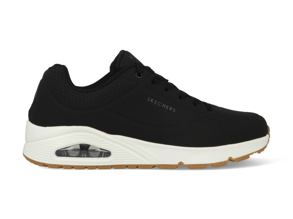 Skechers Stand On Air 52458/BLK Zwart-45 maat 45