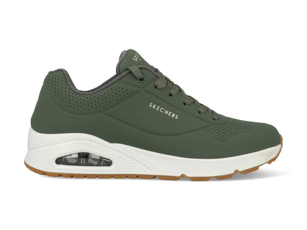 Skechers Stand On Air 52458/OLV Groen-45 maat 45