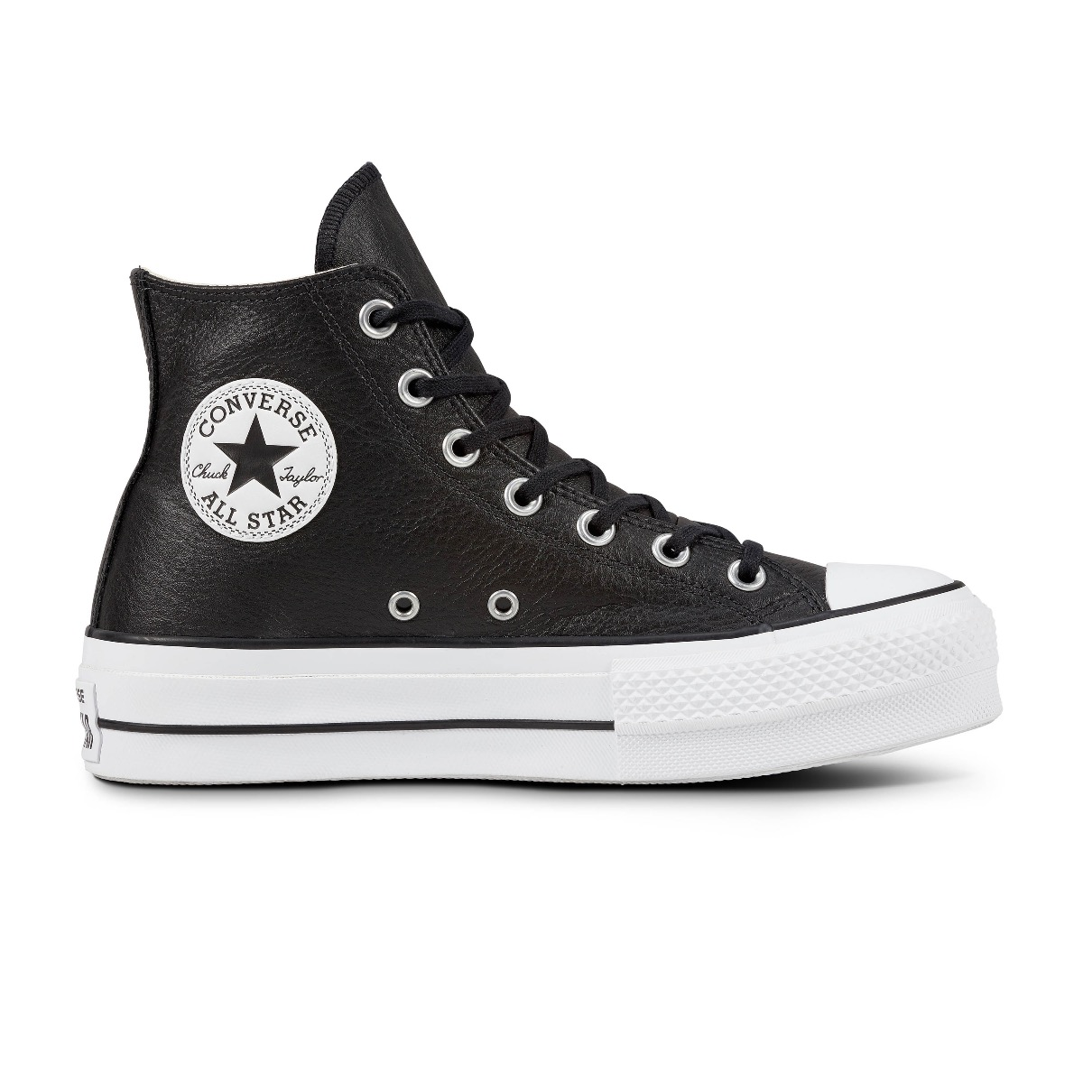 Converse All Stars Lift Clean 561675C Zwart - Wit-35 maat 35
