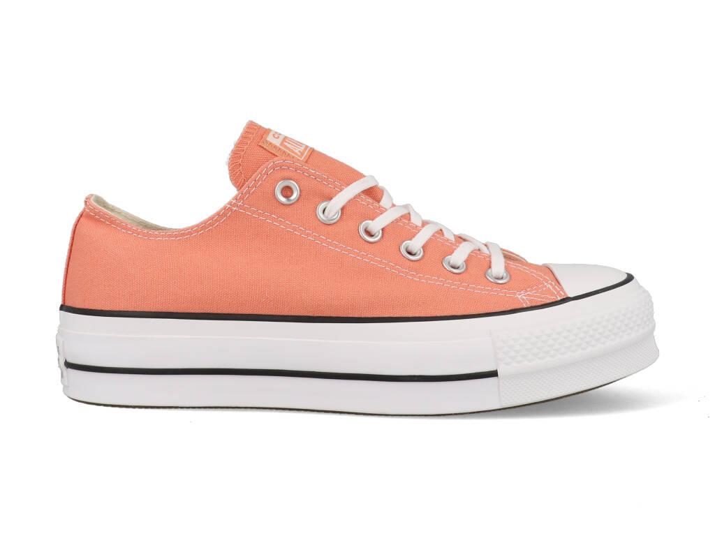 Dagaanbieding - Converse All Stars Chuck Taylor Lift Peach 563495C Oranje-38 dagelijkse koopjes