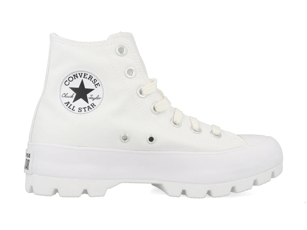 Converse All Stars Chuck Taylor Lugged Canvas 565902C Wit maat