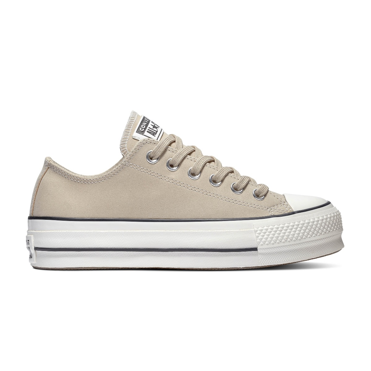 Converse All Stars Chuck Taylor Lift OX 566570C Vintage Wit