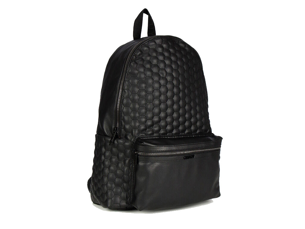 Cruyff Stitched Hexagon Rugzak CA0114173490 Zwart maat