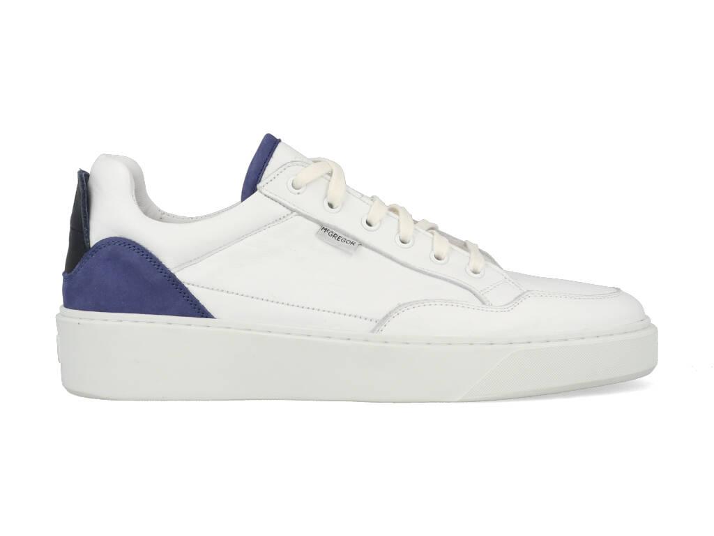 McGregor Sneakers 621100450-529 Wit / Blauw maat