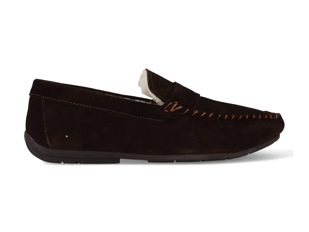 McGregor Pantoffels Homie 621300999-517 Donker Bruin maat