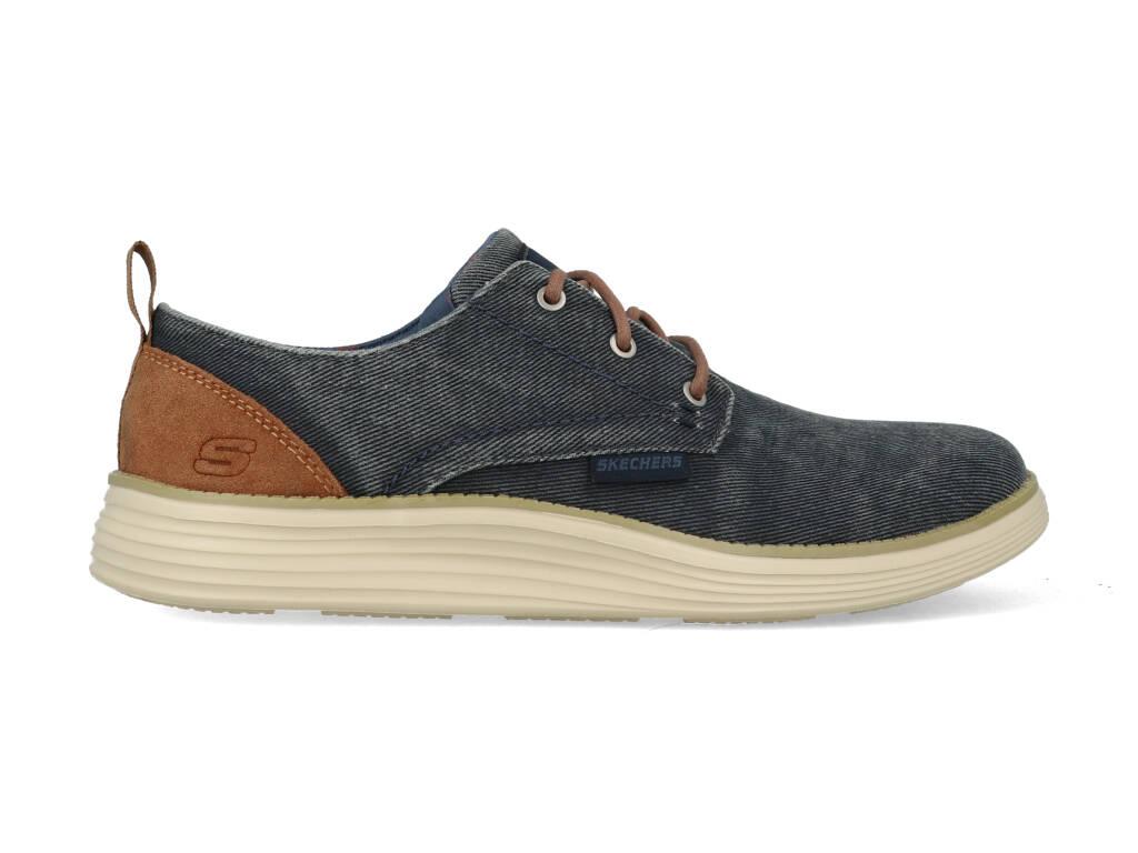 Skechers Status 2.0 Pexton 65910/NVY Blauw maat