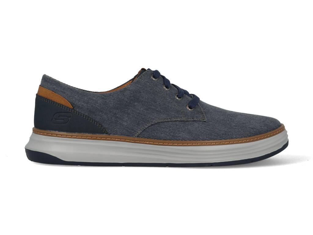 Skechers Moreno Ederson 65981/NVY Blauw-44 maat 44