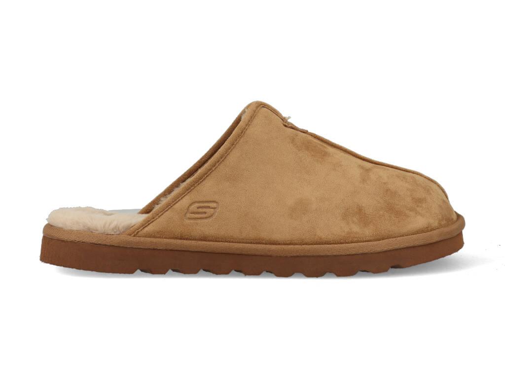 Skechers Pantoffels 66094/TAN Bruin-47.5 maat 47.5