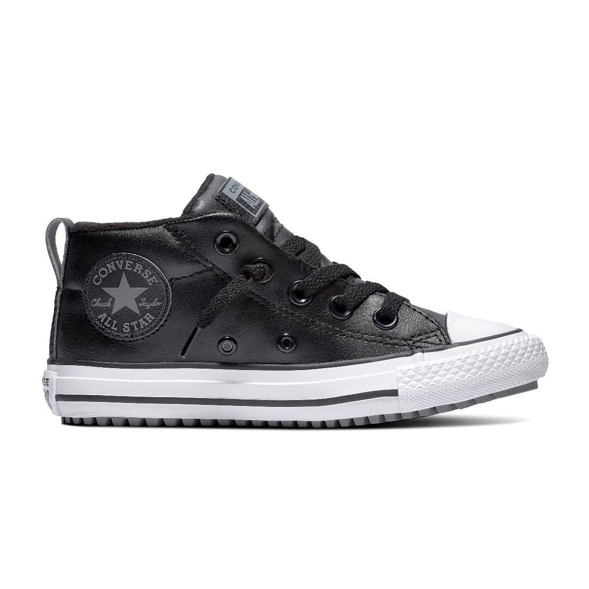 Converse All Stars Chuck Taylor Street Boot 666007C Zwart - Wit-36 maat 36